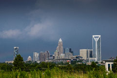 Carolina Sky en Charlotte 2 Fotos de archivo