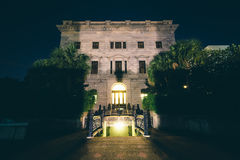 Carolina State House sul dentro na noite, em Colômbia, C sul Imagem de Stock Royalty Free