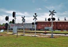 Carolina Transportation Museum del norte en chaqueta de punto Foto de archivo