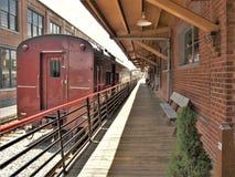 Carolina Transportation Museum del norte en chaqueta de punto Imagen de archivo