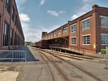 Carolina Transportation Museum del norte en chaqueta de punto Fotografía de archivo