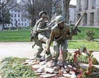 Carolina Vietnam War Memorial del nord Fotografie Stock
