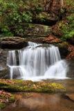 Carolina Waterfall en el norte del estado del sur Imagen de archivo libre de regalías