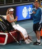 caroline gracza fachowego tenisa wozniacki fotografia royalty free