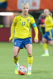 Caroline Seger van Zweden Royalty-vrije Stock Foto's