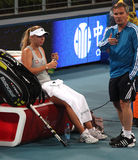 Caroline Wozniacki, professional tennis player Royalty Free Stock Photography