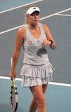 Caroline Wozniacki, professionele tennisspeler royalty-vrije stock afbeeldingen