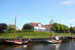 Carolinensiel-Hafen Lizenzfreie Stockbilder
