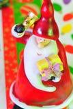 caroling claus santa Стоковая Фотография RF