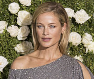 Carolyn Murphy. Model Carolyn Murphy arrives on the red carpet at the 71st Annual Tony Awards held at Radio City Music Hall in New York on June 11, 2017.  The Royalty Free Stock Photo
