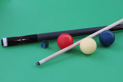 Carom balls Royalty Free Stock Photo