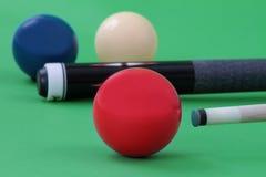 Carom balls Royalty Free Stock Image