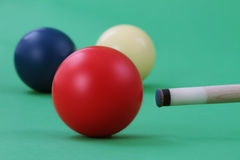 Carom balls Stock Photography