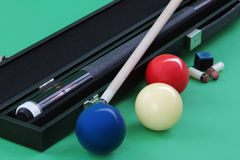 Carom balls Royalty Free Stock Images