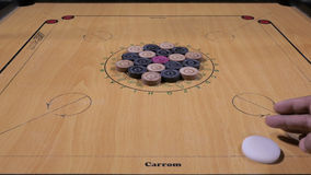 Carom board stock video