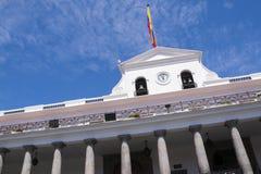 Carondelet presidentpalatset i Quito Royaltyfria Foton