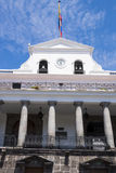 Carondelet presidentpalatset i Quito Arkivbilder