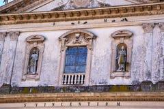Caronno varesino cross church varese italy the     and mosaic wa Stock Images