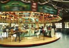 Carosel merry-go-round Stock Images