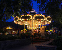 Carosello a Downtown Disney Immagini Stock