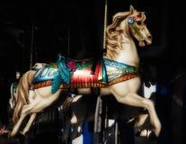 Carosello Horse Fotografia Stock