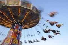Carosello a Oktoberfest a Monaco di Baviera Fotografia Stock Libera da Diritti