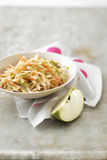 Carot,green apple and celeriac remoulade Royalty Free Stock Photo