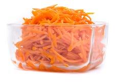 Carote dell'insalata nel Coreano immagine stock libera da diritti