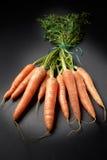Carote organiche grezze Fotografie Stock