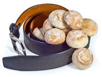 Carotte et pain d'épice Photographie stock libre de droits