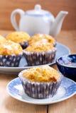Carotte et petits gâteaux oranges Photo stock