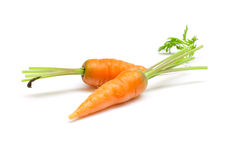 Carottes, carottes de bébé Photographie stock libre de droits