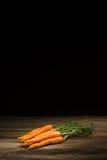 Carottes organiques fraîches photographie stock