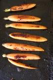 Carottes rôties Image stock