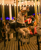 Carousal Horse. This is a photo of a carousal horse at night Royalty Free Stock Photos