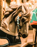 Carousal Horse. This is a photo of a carousal horse at night Royalty Free Stock Photo