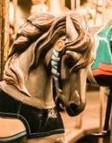 Carousal Paard Royalty-vrije Stock Foto