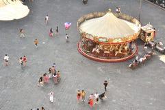 Carousel в городе Флоренса, Италии Стоковое Изображение RF