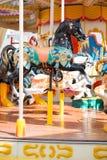 Carousel в парке атракционов Стоковая Фотография RF