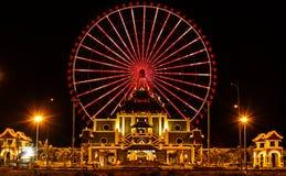 Carousel игр в Danang, Вьетнаме Стоковая Фотография