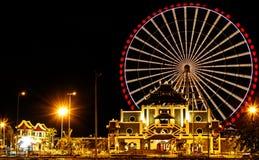 Carousel игр в Danang, Вьетнаме Стоковая Фотография RF