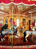 carousel идет веселый круг Стоковые Фото