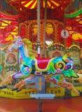 Carousel, карусель, красочная лошадь Стоковое фото RF