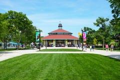 Carousel на зоопарке Brookfield Стоковые Изображения
