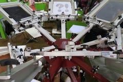 Carousel печатания экрана Стоковое Изображение RF