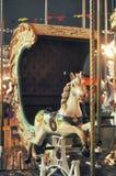 Carousel рождества в Москве, России Стоковая Фотография