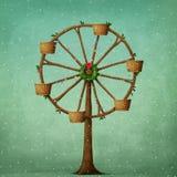 Carousel рождества Стоковое Фото