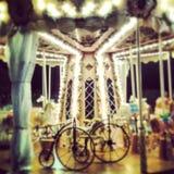 carousel смешной стоковые фото