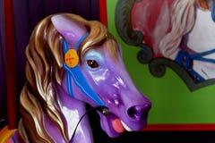 Carousel с лошадями Стоковые Фотографии RF