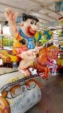 Carousel с Flintstone Фреда Стоковые Фотографии RF